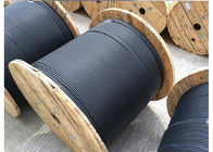 4 6 8 12 24 Fiber Optic Cable , Outdoor Armored Fiber Cable GYXTS Type supplier