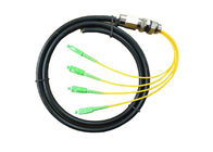 Outdoor MPO MTP Patch Cord , 0.25dB MTP MPO Cable Pre Terminated